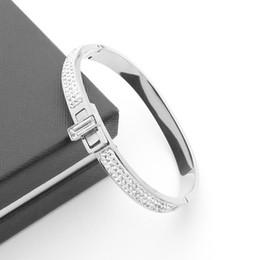 ad1c5298330f Joyas de acero titanium Comercio al por mayor comercio exterior titanio  acero cisne bilateral barro taladro botón giratorio pulsera 18 K oro pulsera  cisne