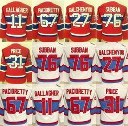 6c64a1df1 Women Montreal Canadiens Jerseys Winter Classic Hockey 11 Brendan Gallagher  27 Alex Galchenyuk 31 Carey Price 67 Max Pacioretty 76 PK Subban ...