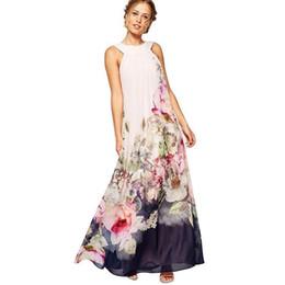 $enCountryForm.capitalKeyWord Canada - Nice Summer Style Floral Print Maxi Dresses Women Beach Club Casual Loose Chiffon Sleeveless O-Neck Long Elegant dress Plus Size