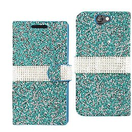 bling credit card UK - Hybrid Bling Rhinestone Diamond PU Leather Wallet Cover Case Credit Card Slot for HTC Desire 530 520 626 ONE M10 A9 M9