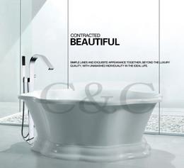 Ingrosso Installazione facile del flusso d'acqua grande con la serie incorporata del miscelatore del rubinetto della vasca da bagno del rubinetto della cascata del bagno della scatola incorporata 6203