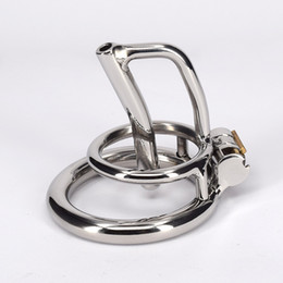$enCountryForm.capitalKeyWord Australia - Stainless Steel Male Bondage Small Cock Cage For Men Metal Chastity Device For Gay Sexy Bdsm Fetish Toys Adult Products