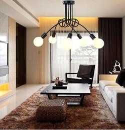 Hall Ceiling Light Canada - Modern Ceiling Lights Living Room Luminaria E27 Loft Pendant Lamps Home Lighting Fixtures De Techo Lustre 3 5 Heads