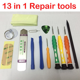 Tablets Repair Tools Canada - 13in1 Macbook air Apple disassemble tool Pro notebook combination tool set Prying Opening Cell Phone Tablets Laptop Repair Disassemble Tool