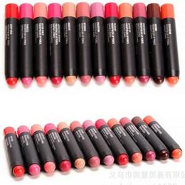 Lips penciL crayon online shopping - DHL Makeup M Patentpolish Lip Pencils Matte Lipsticks Make Up Nutritious WaterProof Lips Colors Crayon A Levres Velvet g Colors