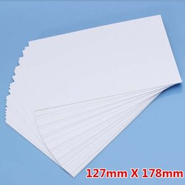 Photo Paper Printing Canada - 100 Sheet  Lot 5R Photo Paper High Glossy High Quality 127*178mm School Office Home Single-sided Printing Paper Papelaria