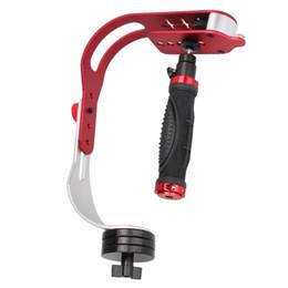 Digital viDeo stabilizers online shopping - Newest PRO Handheld Video Stabilizer Steady Cam For DSLR DV SLR Digital Camera High Quality