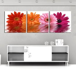 bird pictures print Canada - Free Shipping 3 Pieces unframed Prints Chrysanthemum Morning glory Cartoon flower butterfly bird chinese characters Jade tea Abstract tree