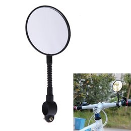 $enCountryForm.capitalKeyWord UK - Shatterproof & High-strength ABS Mountain Road MTB Bike Bicycle Rear View Mirror Reflective Cycling Safety Flat Mirror