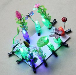 $enCountryForm.capitalKeyWord NZ - Emitting sell Meng artifact Colorful butterfly hairpin head plant grass headdress decorated resort stall small jewelry wholesale