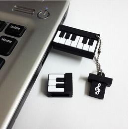 Discount music usb stick - Pen Drive 4GB 8GB 16GB 2GB Silicone Piano Music Instrument Pendrives Usb Flash Drive Memory Stick Gift USB 2.0