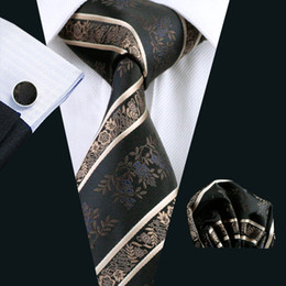 $enCountryForm.capitalKeyWord NZ - Fashion Silk Adult Men's Necktie for Party Floral Floral & Stripes Ties for Men Suit Black Men Tie High quality Neck Tie N-0798