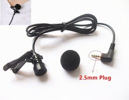 $enCountryForm.capitalKeyWord Canada - Free shipping Mini Portable Hands-free 2.5mm Jack Wired Lavalier Microphone Mic for iPad Computer Laptop Loudspeaker 1pcs lot