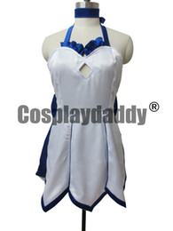 Wholesale fate stay night saber cosplay resale online - Fate Stay Night Blue Lily Saber lily Cosplay Costume Altria Pendragon Ball Skirt