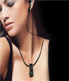 $enCountryForm.capitalKeyWord Canada - Water Resistant Necklace MP3 Player Fashion 8GB 8G Touch Button Water Resistant Necklace MP3 Player 3.5 mm Black walkman mp3 mp3 player mp3