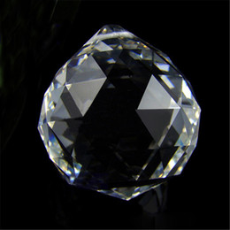 $enCountryForm.capitalKeyWord NZ - 5pcs Clear 40mm K9 Crystal Glass Faceted Suncatcher Ball Prism Chandelier Crystal Parts Hanging Chandelier Parts Home Decoration
