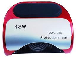 Life Gel Australia - Wholesale-Lamp LED Lamp Nail Dryer Long Life 48W LED CCFL Curing for UV Gel Nail Polish