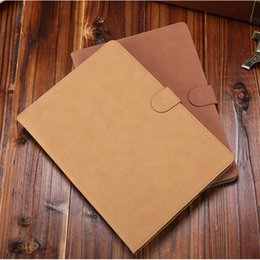 Wholesale For New ipad Vintage Retro Leather Smart Cover Protective Slim Folio Flip Stand Case for iPad air air2 mini