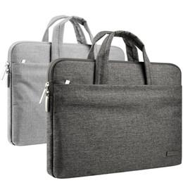 11-15.6 дюймов ноутбук рукав портфель водоотталкивающая сумка для MacBook Air Pro поверхность iPad Dell hp Chromebook чехол ноутбук сумка