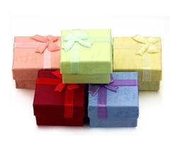 Mini Gift Boxes NZ - Mini Jewelry Boxes Beautiful Fashion Jewelry Bracelet Ring Earring Pendant Box Square Box Packing Gift Case