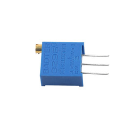 Wholesale-5pcs Potentiometer Assorted Variable Resistor Resistive 3296 W 12values Hot ! C1Hot New Arrival from resistor smd kit manufacturers