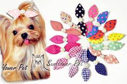 $enCountryForm.capitalKeyWord Australia - 2016 Pet hair clips grooming bows Pet Necessary pet tire hair bow Hair of the Dogs Accessories dog hairpinn