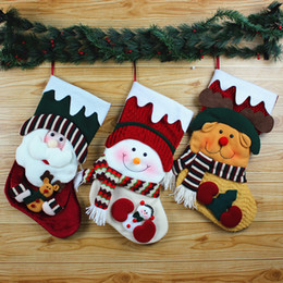 $enCountryForm.capitalKeyWord Canada - Christmas Ornaments Christmas Decorations Candy Bag Santa Claus Display Christmas Socks Bags Of Socks