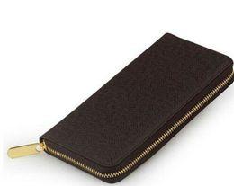 Popular Brand Purses Canada - Hotsale Top quality hotsale brand new women genuine Leather popular wallet hand purse 60017 small bag l20