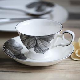 $enCountryForm.capitalKeyWord Canada - European style coffee cup set simple English bone china coffee cup dish pot set of creative ceramic cup