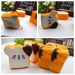 Les Enfants Légers Pas Cher-Jumbo Kawaii Squishy Slow Rising 15CM Smile Jambes de poulet Cute Cartoon Phone Straps Sweet Scented Bread Cake Kid Toy Gift