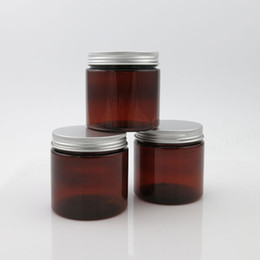 $enCountryForm.capitalKeyWord Australia - 20 X 200ml Empty Amber PET Jar With Aluminum Cap Seal