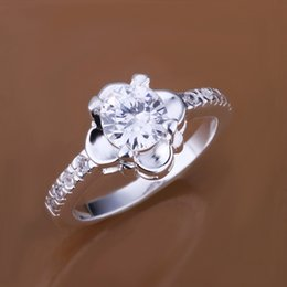 Discount sunflower rings - New arrival best gift Sunflower gemstone 925 silver ring TYSR147 Factory direct sale high grade wedding sterling silver