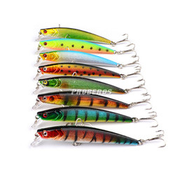 live target 2019 - Bionic 8Colors Minnow Artificial Hard Lure 9cm 8.2g Pencil CRANK Live Target ABS Plastic Bass bait Diving Depth 0.8-2.4m