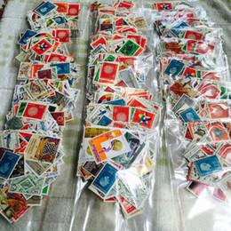 Vente en gros Vente en gros-300 PCS / Lot aucune collection de timbres-poste de répétition de partout dans le monde avec le timbre postal de timbre postal tout utilisé pour la collection
