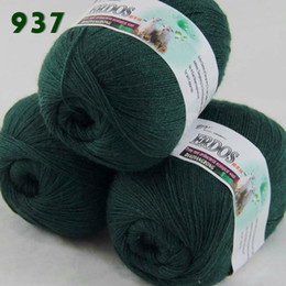 $enCountryForm.capitalKeyWord UK - Free shipping Lot 3 Skeins LACE Soft Acrylic Wool 5% 45%- Wool 50%- Acryli Cashmere Yarn Knitting C