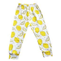 Discount cotton harem kids - PrettyBaby 2016 kids pants hot sale lemon prined haroun pants 100% cotton kids trousers children clothes free shipping