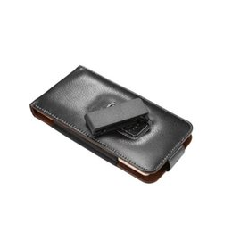 Lg Nexus Leather Case UK - Genuine Leather Phone Case Cover Flip Holster Leather Pouch for Google LG Nexus 5 Belt Clip 4.0-6.3 inch Universal Bag