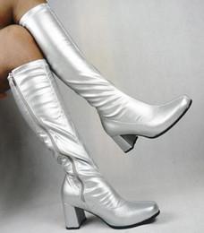 $enCountryForm.capitalKeyWord Canada - Thigh High Boots Feminino Chunky heels Leather Motorcycle Booties Womens Shoes