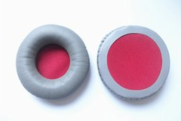 $enCountryForm.capitalKeyWord Canada - Soft protein leather ear cushion gyay colour ear pads for ATH-WS70 77 headphone with free shipping by mail 2pcs lot