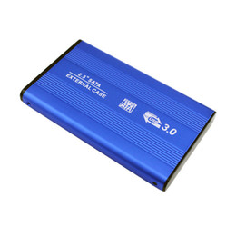 Discount inch hard drives - Wholesale- Hot New Promotion 2.5 Inch USB3.0 Aluminum Alloy External Hard Drive Disk SATA Solid State HDD Transmission S