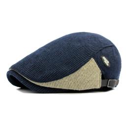 Flat Hats For Women Australia - New Fashion Sports Berets Caps For Men Women Casual Autumn Unisex Caps Four Seasons Cotton Berets Hats Boina Casquette Flat Cap