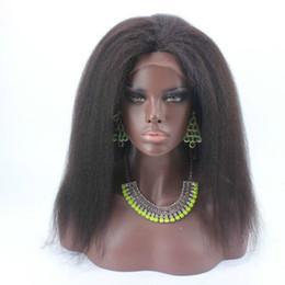 $enCountryForm.capitalKeyWord Canada - Sale Price 150 Density Italian Yaki African American Glueless Full Lace Wigs Brazilian Hair Kinky Straight Lace Front Wigs