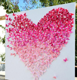 20pcs shinniny butterfly wall stickers 3d stickers beauty home decorations wedding gifts decorations kids room decorations 2016 may style