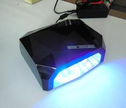 $enCountryForm.capitalKeyWord Canada - Fashion CCFL 36W LED Light Diamond Shaped Best Curing Nail Dryer Nail Art Lamp Care Machine for UV Gel Nail Polish