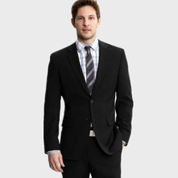 $enCountryForm.capitalKeyWord UK - Wholesale- black wool blended groom suits tuxedos fashion men suits tailor made wedding groomsman suits tuxedos(jacket+pants)