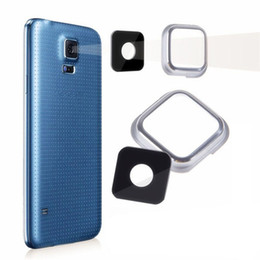 $enCountryForm.capitalKeyWord NZ - Replacement Back Camera Glass Lens Cover For Samsung Galaxy S5 SV I9600 G900 G9005 G900V with Adhesive