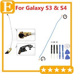 Antenna Masts Canada - WiFi Antenna Signal WIre mast Flex Cable Ribbon For Samsung Galaxy S3 III i9300 i9305 I747 VS S4 GT-I9500 I9505 I337 Repair Parts