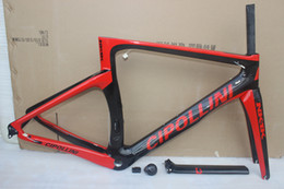 $enCountryForm.capitalKeyWord Canada - red black painting Carbon Road Frame Mcipollini NK1K BB68 BB30 T1000 Carbon Bike Frame include frame fork seatpost headset