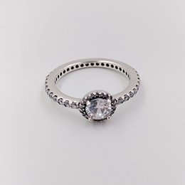 a98586ae2 Authentic 925 Sterling Silver Rings Classic Elegance, Clear Cz Fits  European Pandora Style Jewelry 190946CZ