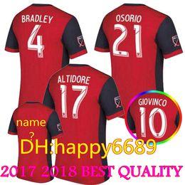 86297c22d ... 2017 2018 Toronto FC Soccer jersey Thai quality BRADLEY GIOVINCO OSORIO ALTIDORE  jersey 17 18 MLS ...